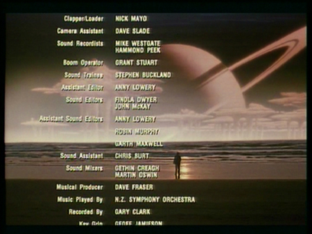 The Quiet Earth (Shock Ending)   qe endcredits cr shock endings