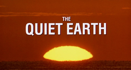 The Quiet Earth (Review)   qe title cr sci fi reviews drama