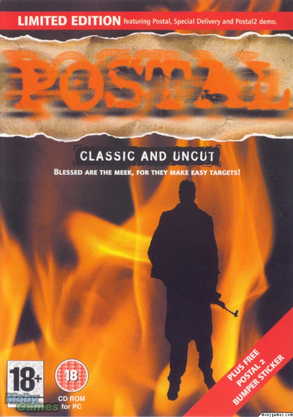 Postal   600full postal classic and uncut cover action