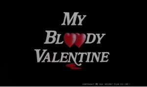 My Bloody Valentine (1981)   my bloody valentine title 300x177 reviews horror