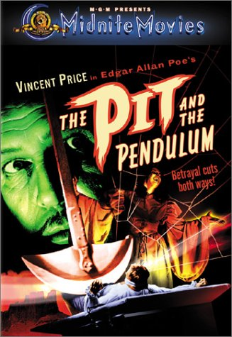 a comparison of edgar allan poes novel the pit and the pendulum and the movie version High school students struggle with edgar allan poe's the pit and the pendulum, but don't (time and death), and the angelic forms of the inquisitorial tribune (angels of death) are three of many symbols in the novel another option is to make a movie poster that includes a scene from.