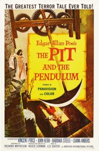 The Pit And The Pendulum   pit and the pendulum1961poster02cr 197x300 shock endings