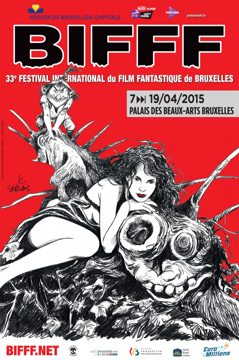 Festivals   BIFFF 2015 poster uncategorized