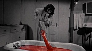 The Tingler   bloodhand bathtub 300x169 reviews horror