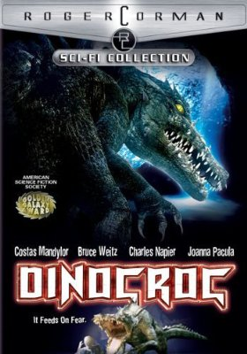Dinocroc   dinocroc poster 1 sci fi reviews horror
