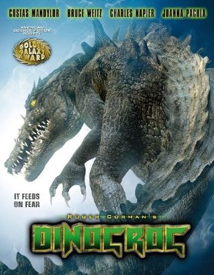 Dinocroc   dinocroc poster 2 sci fi reviews horror