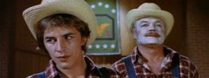 A Boy and his Dog   don and farmer clown 300x112 sci fi reviews drama comedy