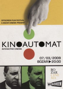 Kinoautomat: One Man and his House   kinoautomat bozar offscreen 2009cr 213x299 news