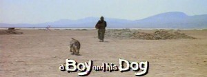 A Boy and his Dog   title screen1 300x112 sci fi reviews drama comedy