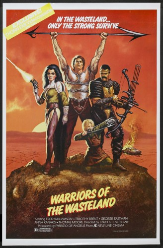 The New Barbarians   warriors affichecr 328x500 sci fi reviews action