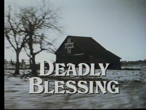 Deadly Blessing   deadly blessing title 300x225 reviews horror