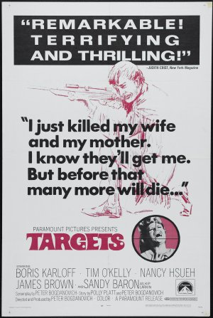 Targets   targetsposter thriller reviews reviews