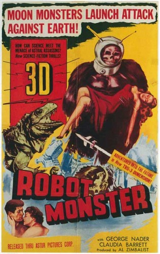 Robot Monster   RM poster 315x500 sci fi reviews horror fantasy