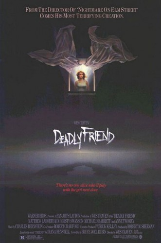 Deadly Friend   deadly friend posterCR 331x500 sci fi reviews horror