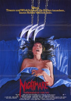A Nightmare on Elm Street   noes poster 1 reviews horror