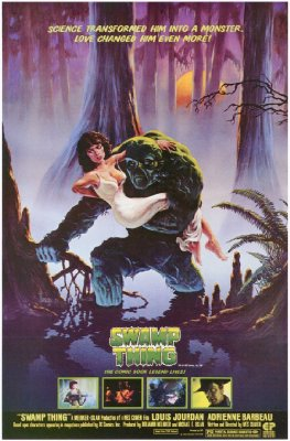 Swamp Thing   swamp thing poster 2 sci fi reviews horror action