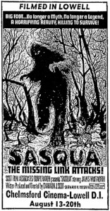 The Story of Sasqua   Sasqua poster art 156x300 interviews articles