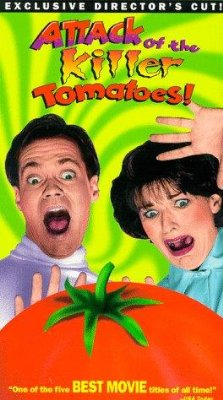Attack of the Killer Tomatoes!    Attack of the Killer Tomatoes poster 1 sci fi reviews horror comedy