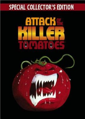 Attack of the Killer Tomatoes!    Attack of the Killer Tomatoes poster 3 sci fi reviews horror comedy