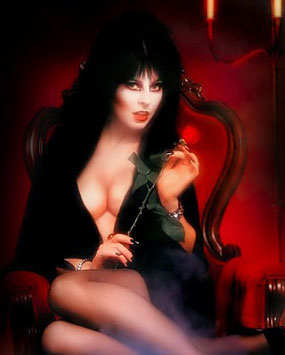 Elvira, Mistress Of The Dark   Elvira webpicCR reviews horror comedy