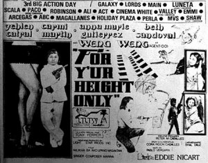 For Your Height Only   FYHO bw promo 300x235 reviews action