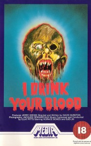 I Drink Your Blood   I drink your blood vhsCR 187x300 reviews horror
