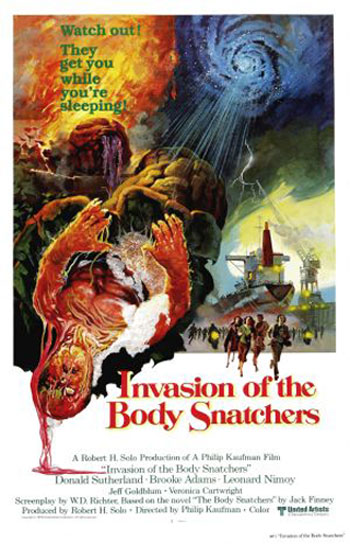 Invasion of the Body Snatchers (1978)   Invasion body snatchers vividCR sci fi reviews horror