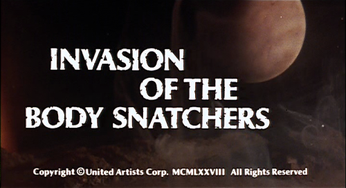 Invasion of the Body Snatchers (1978)   Invasion of the Body Snatchers title 500x272 sci fi reviews horror