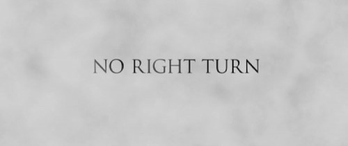 No Right Turn   NRT title screen 500x211 thriller reviews romance reviews fantasy drama comedy