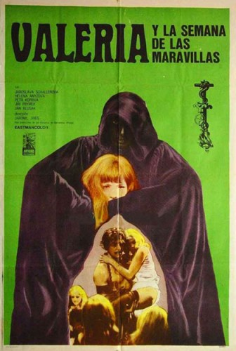 Valerie and her Week of Wonders   Valerie green posterCR 336x500 reviews horror fantasy