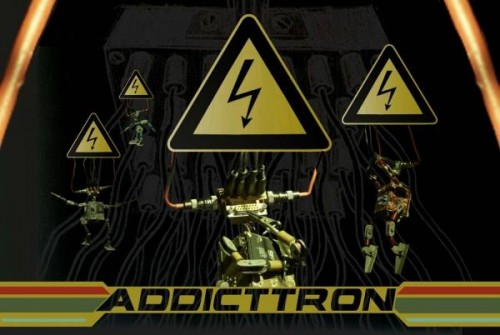 Addicttron / All Circuits Go   addicttron promo poster 500x335 video