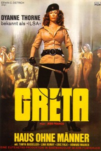 Ilsa, The Wicked Warden   Greta German poster 202x300 reviews horror drama