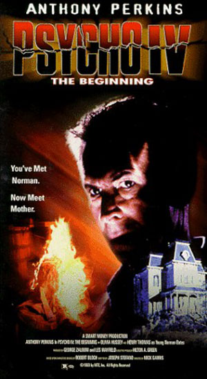 Psycho IV: The Beginning   Psycho IV vhsCR thriller reviews reviews horror