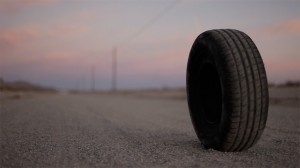 Rubber   Rubber road 300x168 thriller reviews reviews horror drama comedy