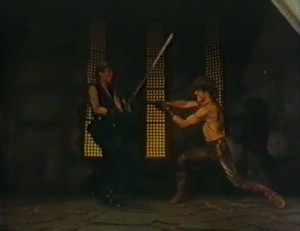 Deathstalker II   DSII sword fight 300x231 reviews horror fantasy comedy