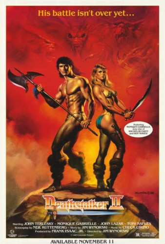 Deathstalker II   deathstalker ii poster01 338x500 reviews horror fantasy comedy