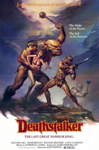 Deathstalker   deathstalker poster 332x500 reviews horror fantasy