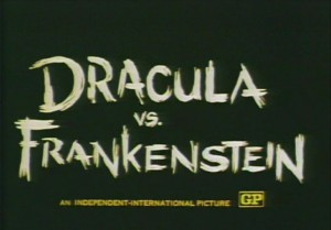 Dracula Vs. Frankenstein   D vs F title screen 300x209 horror