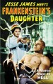 Jesse James Meets Frankensteins Daughter   JJMFD poster02 75x120 western sci fi reviews horror