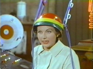 Jesse James Meets Frankensteins Daughter   JJMFD rasta helmet 300x225 western sci fi reviews horror