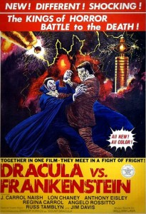 Dracula Vs. Frankenstein   dracula vs frankenstein poster02 205x300 reviews horror