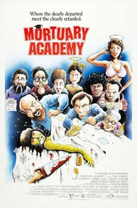 Michael Schroeder Interview   mortuary academy movie poster 1988 197x300 interviews articles