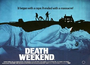 Death Weekend   DW promo poster 300x216 thriller reviews reviews horror comedy