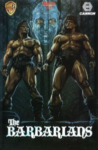The Barbarians   The Barbarians 1987 vhs uk 197x300 reviews horror fantasy action