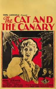 Offscreen 2012   cat and canary 1927 poster 01 190x300