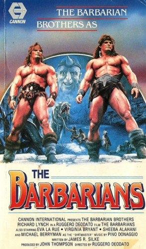 The Barbarians   The Barbarians 1987 vhs be 293x500 action