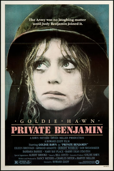 Private Benjamin   Private Benjamin poster reviews comedy