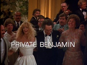 Private Benjamin   Private Benjamin title 300x225 reviews comedy