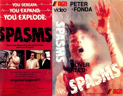 Spasms   spasms vhs cover 01 500x391 reviews horror