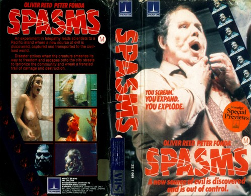 Spasms   spasms vhs cover 02 500x391 reviews horror